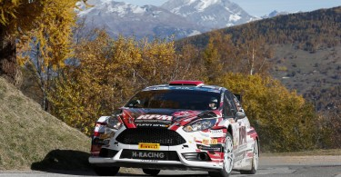 03 LUKYANUK Alexey ARNAUTOV Alexey Ford Fiesta R5 action during the 2015 European Rally Championship ERC Valais rally,  from October 29 to 31th, at Sion, Switzerland. Photo Alexandre Guillaumot / DPPI
