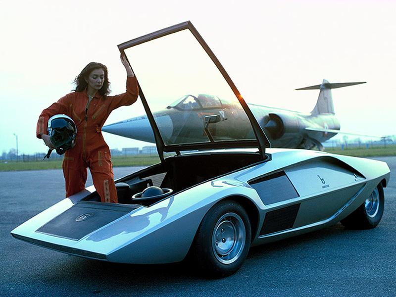 Concept Car, Bertone Lancia Stratos, 1970