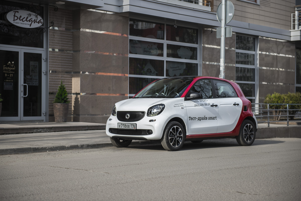 Smart ForFour фото