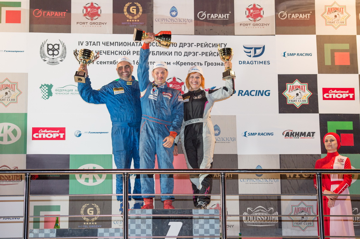 Класс FWD_4 этап_1 место - Третьяк, 2 место - Гаракишиев, 3 место - Яковлева