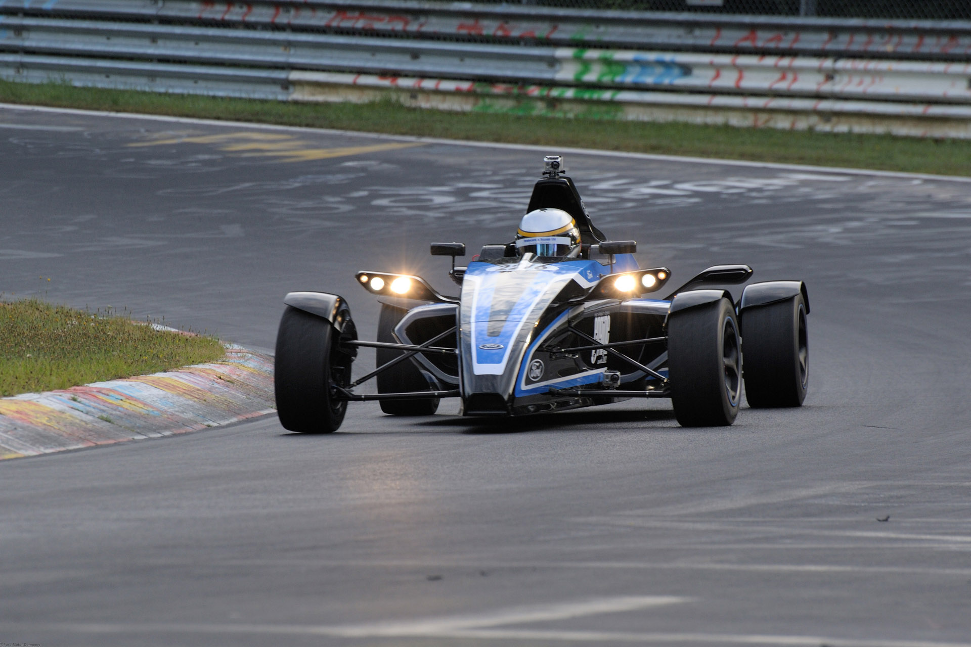 Ford 1.0-litre EcoBoost engine powers unique road-going Formula Ford race car to Nürburgring record. (09/03/12)