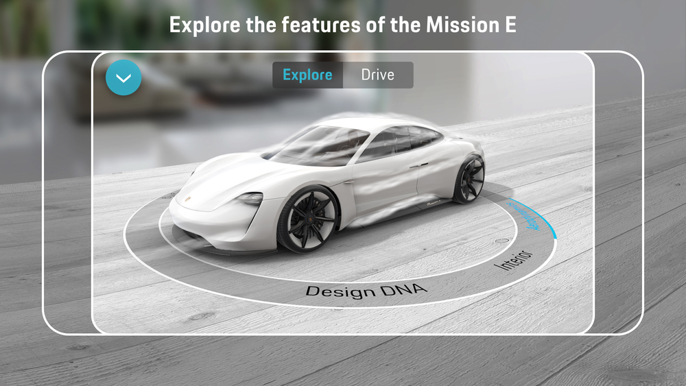 Porsche Mission E Augmented Reality App_2