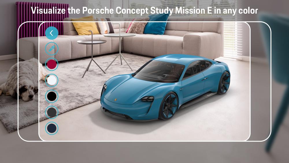 Porsche Mission E Augmented Reality App_3