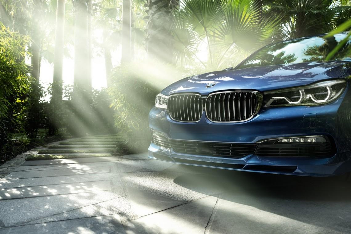 BMW ALPINA B7 - 600 сил эксклюзива