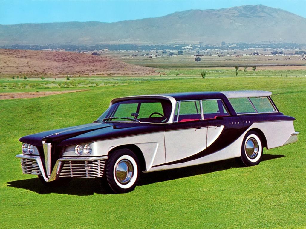 #НеизвестнаяАмерика, часть 28: Дизайн мечты или мечта дизайнера, Scimitar All-Purpose Sedan by Reutter'1959