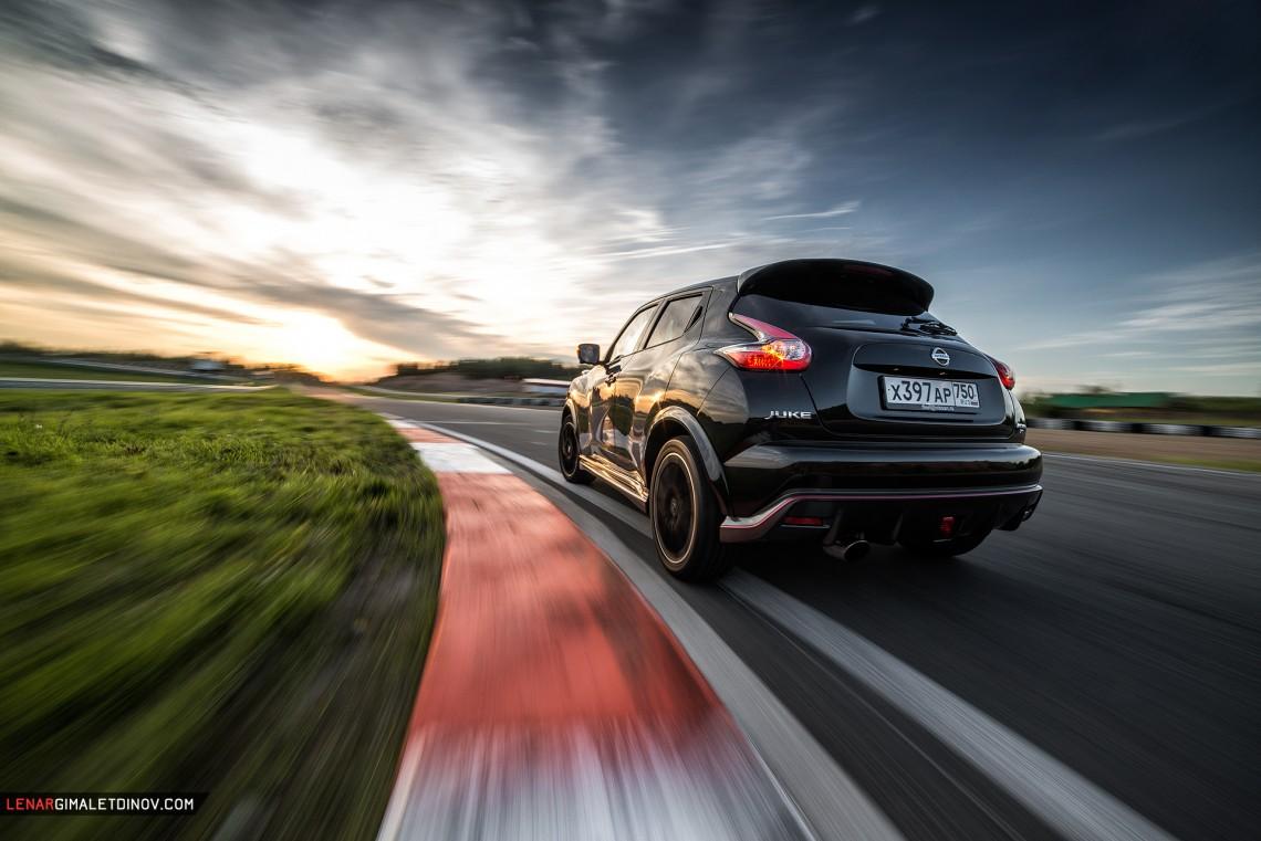 Казанский супер тест-драйв Nissan Juke Nismo RS и победа в time-attack