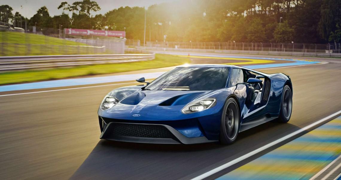 Ford GT начал сходить с конвейера