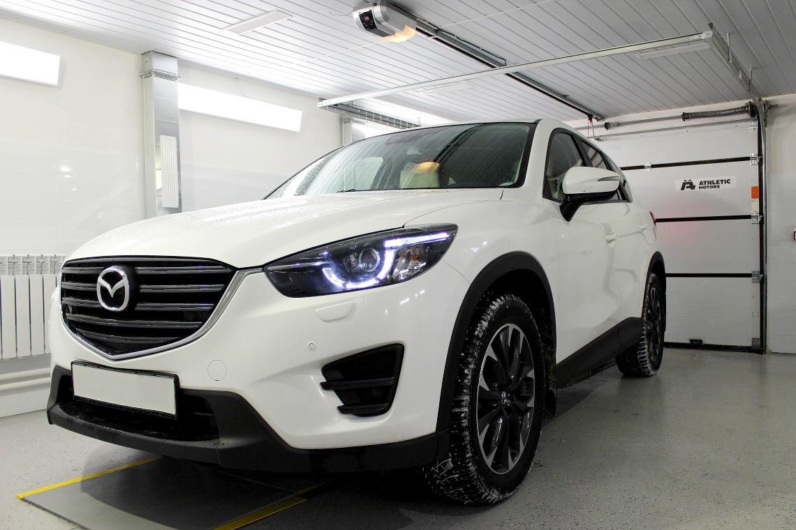 Чип-тюнинг Mazda CX-5: улучшение динамики и уменьшение расхода