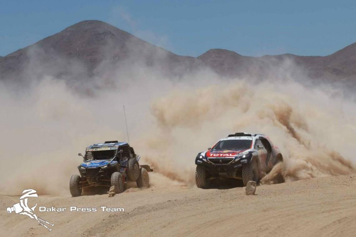 Машины «Дакара 2015»: от боевых до техничек