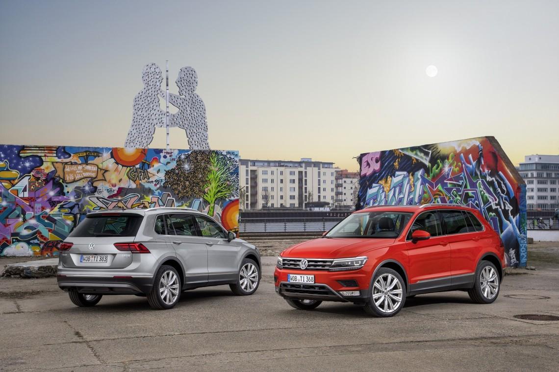 Официальный прайс-лист на новый Volkswagen Tiguan