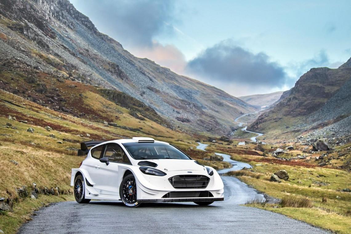 Презентована новая Ford Fiesta WRC 2017