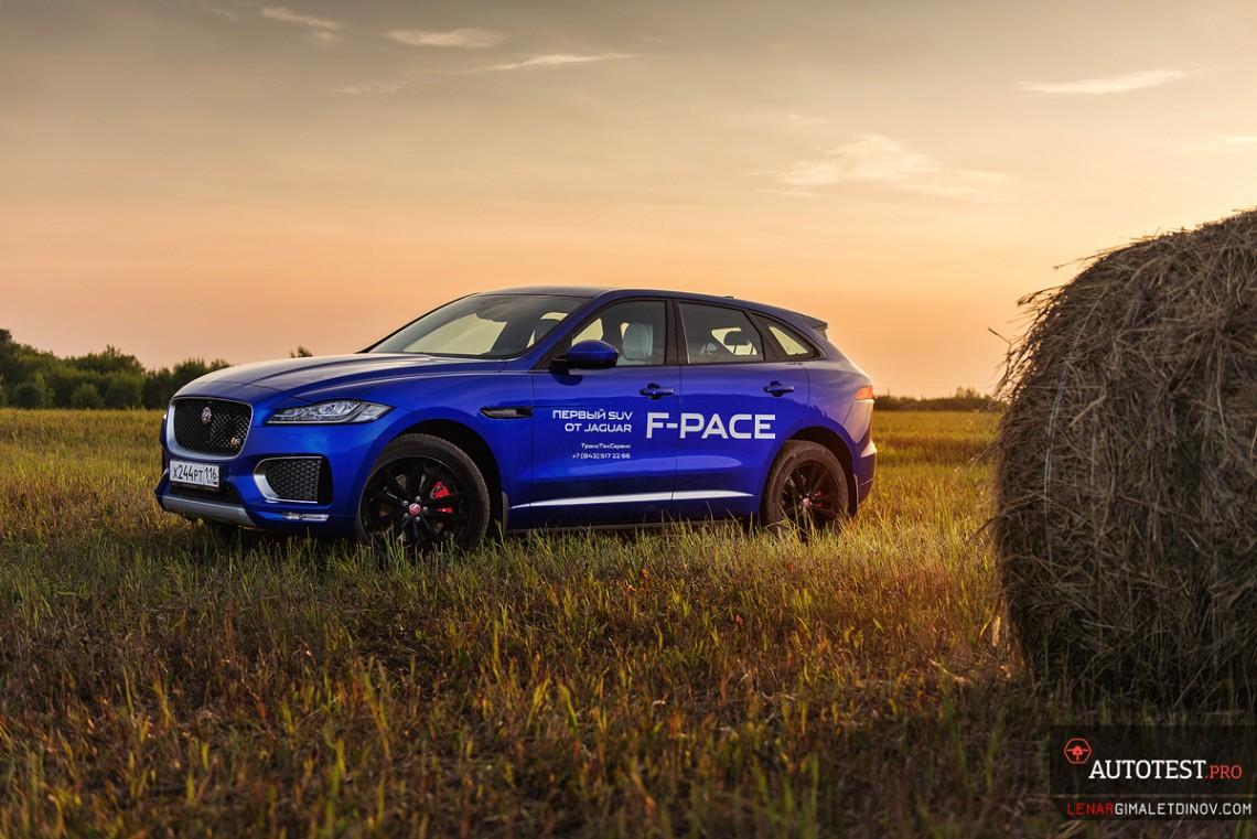 Тест-драйв Jaguar F-Pace First Edition