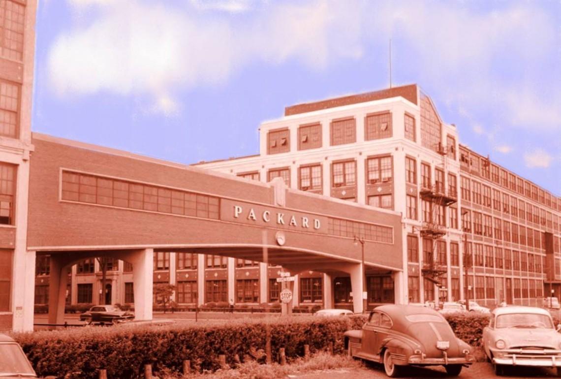 Packard — эталон завода, в свое время, был когда-то …