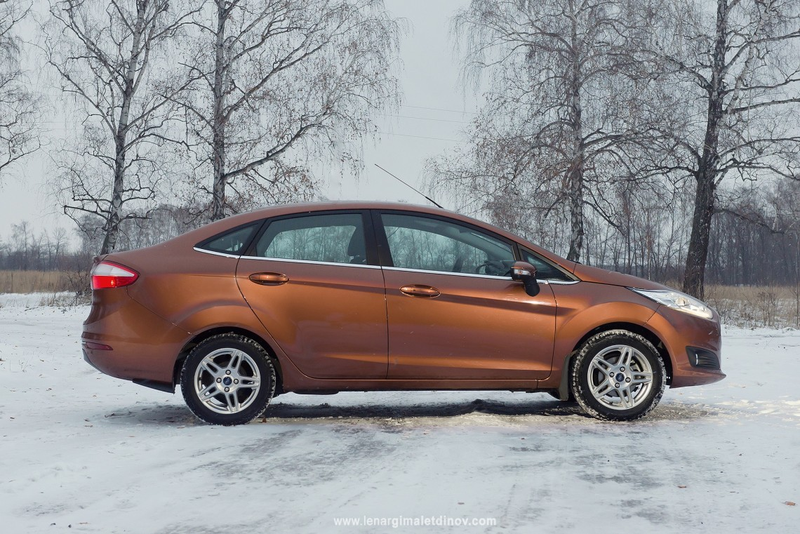 Тест-драйв Ford Fiesta sedan челнинской сборки