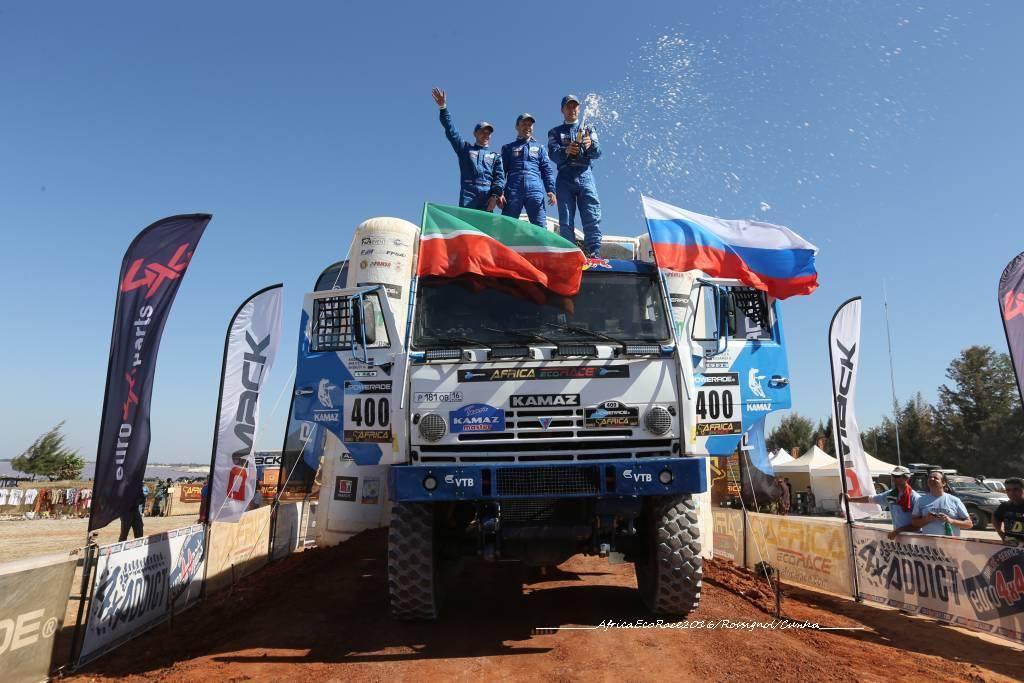 Как наши выиграли AFRICA ECO RACE 2016
