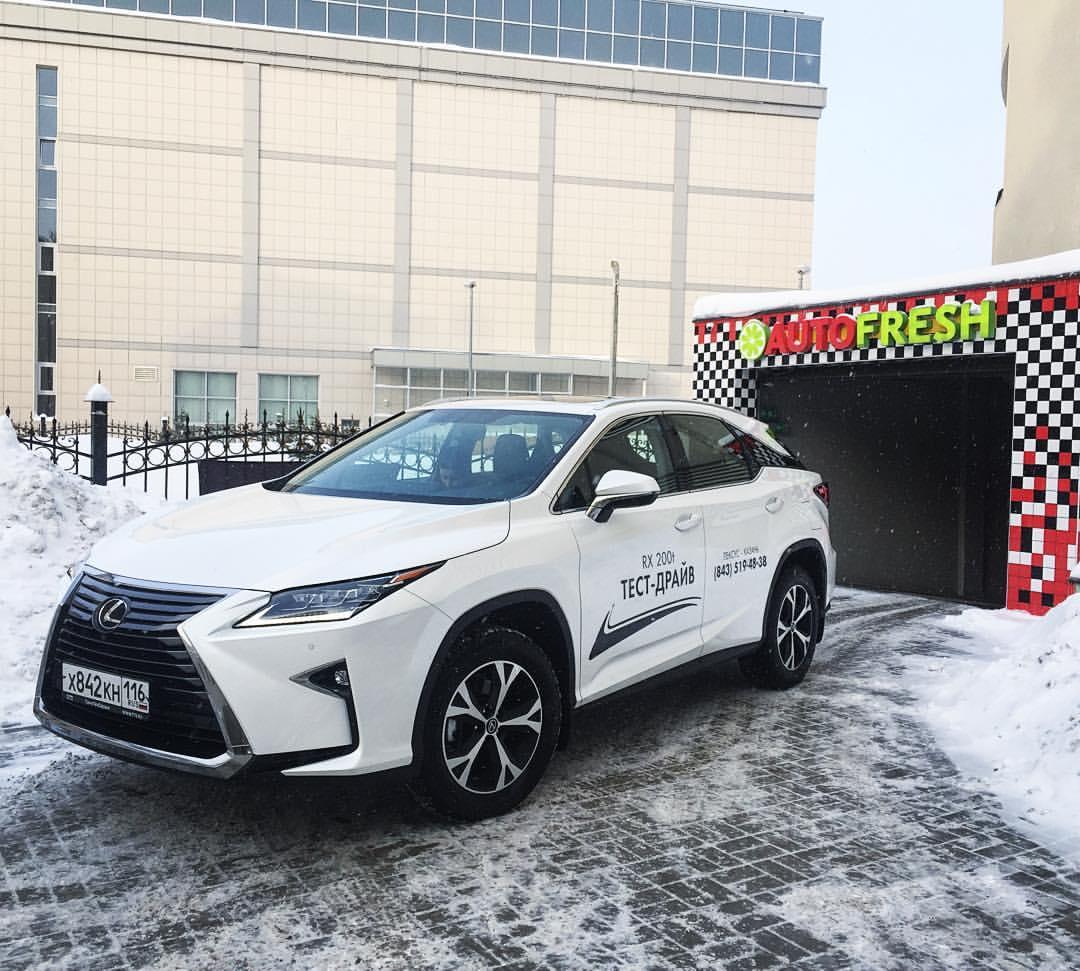 Lexus RX 200t видео-версия тест-драйва