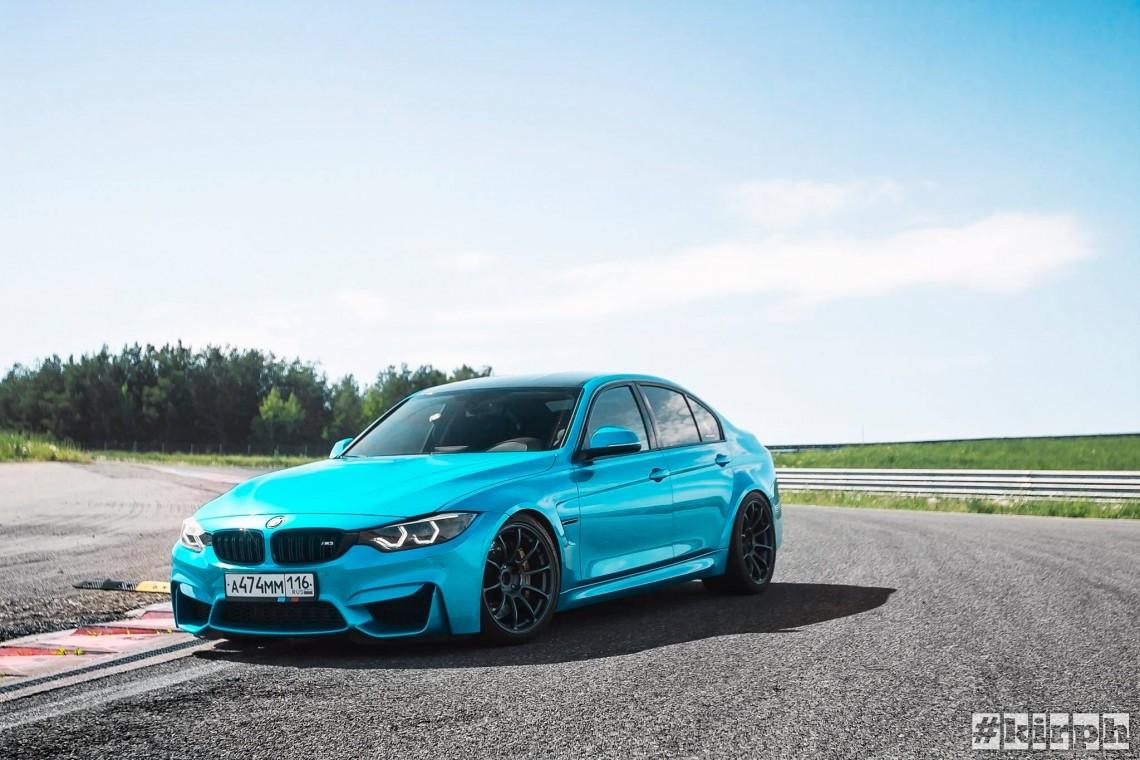 BMW 335, фотосет на Казань-ринге