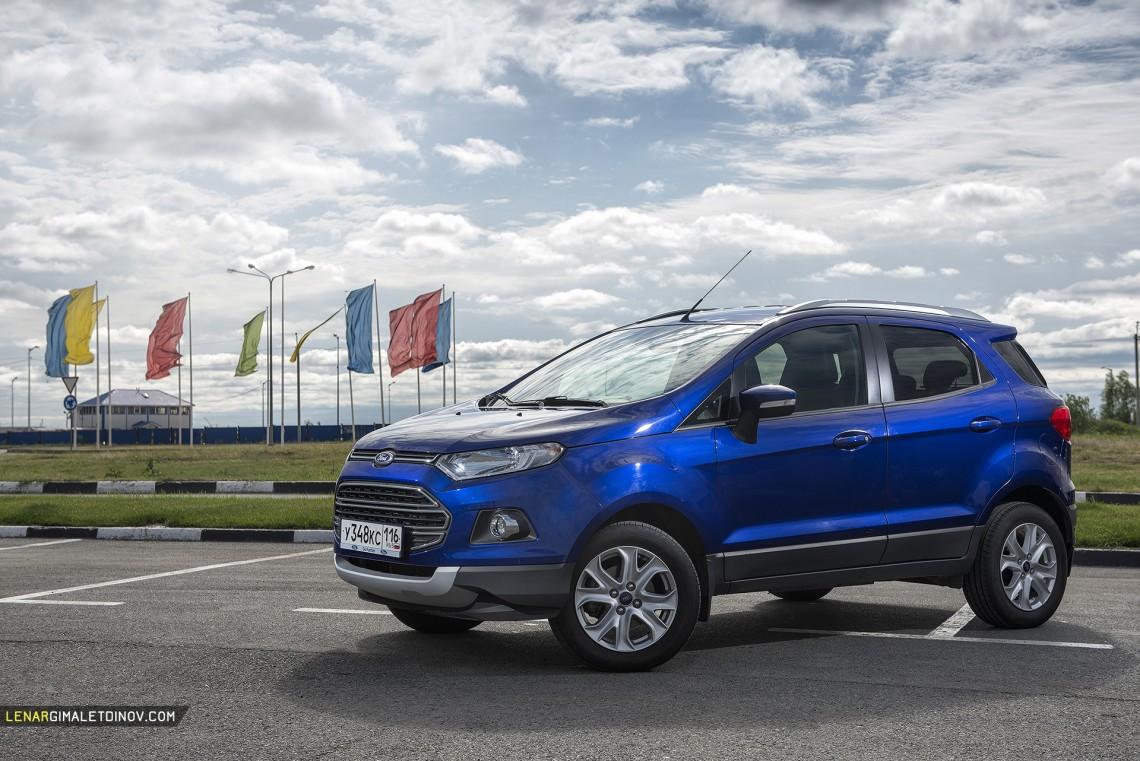 Теперь и на Ford EcoSport устанавливают двигатели российского производства