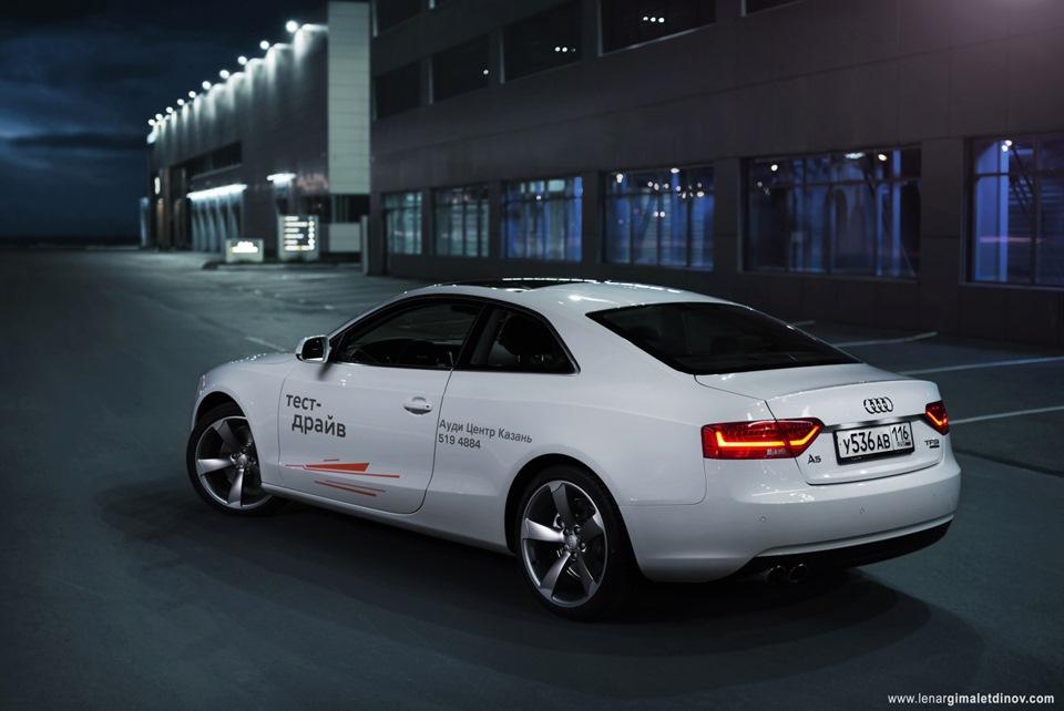 """Тест-драйв Audi А5 2.0 Quattro (225 л.с.) — """"трёхдневный тест"""""""