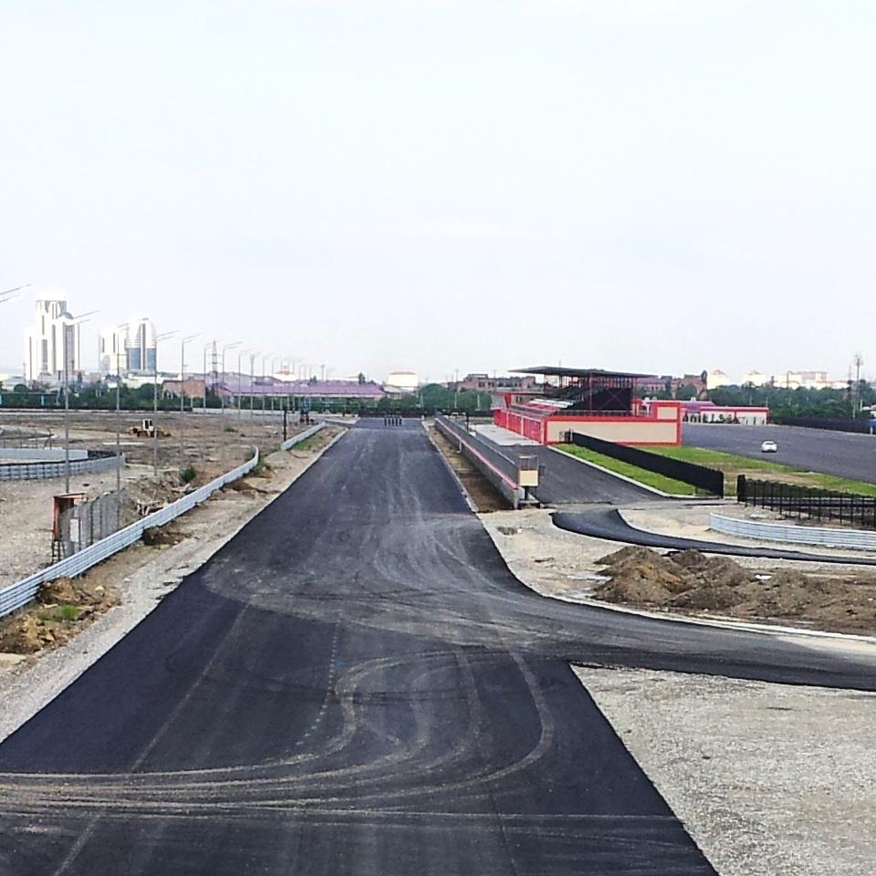 Новый автодром «Крепость Грозная»: первым будет дрэг