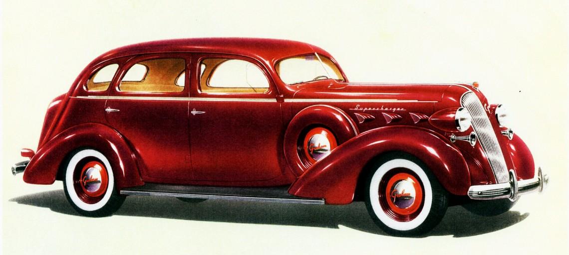 #НеизвестнаяАмерика, часть 24: Улучшая лучшее - Graham car manufacturer