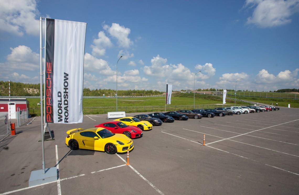 Porsche World Roadshow в Казани, два дня драйверского счастья, тест-драйв Porsche (911, Cayman, Boxster, Panamera, Macan, Cayenne)