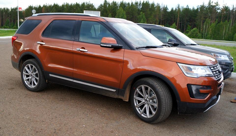 Ford Explorer'2016 уже в Татарстане!