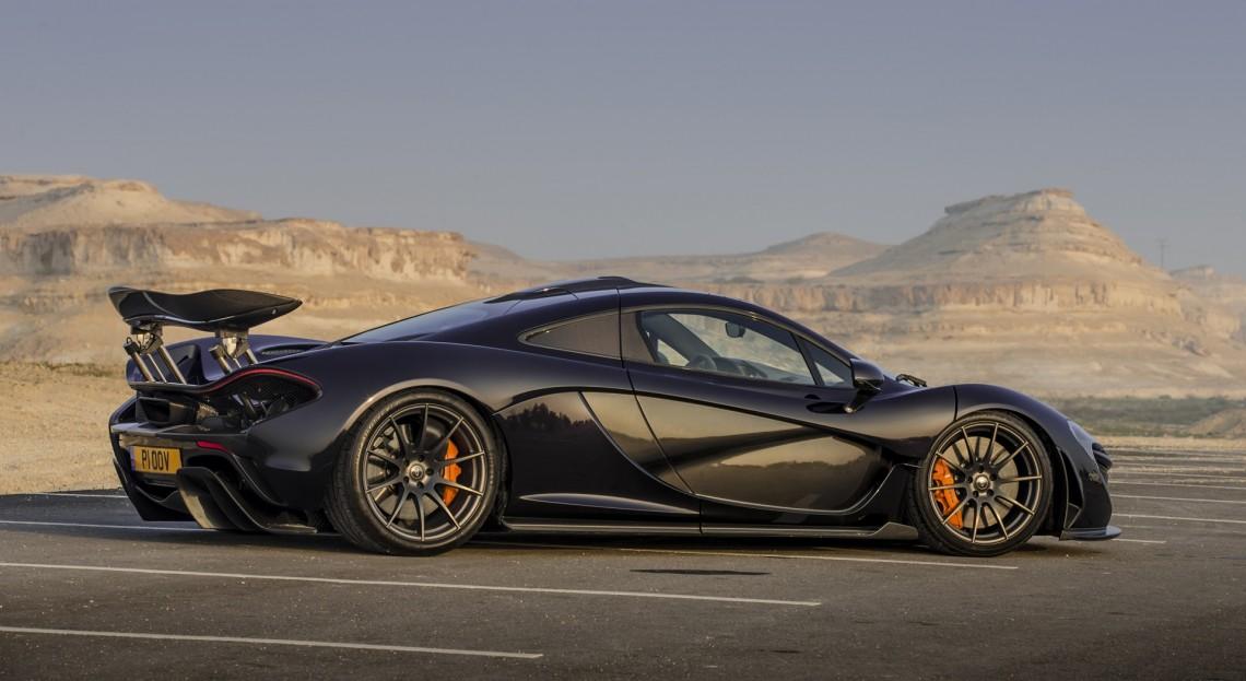 Колонка Кларксона: тест-драйв McLaren P1