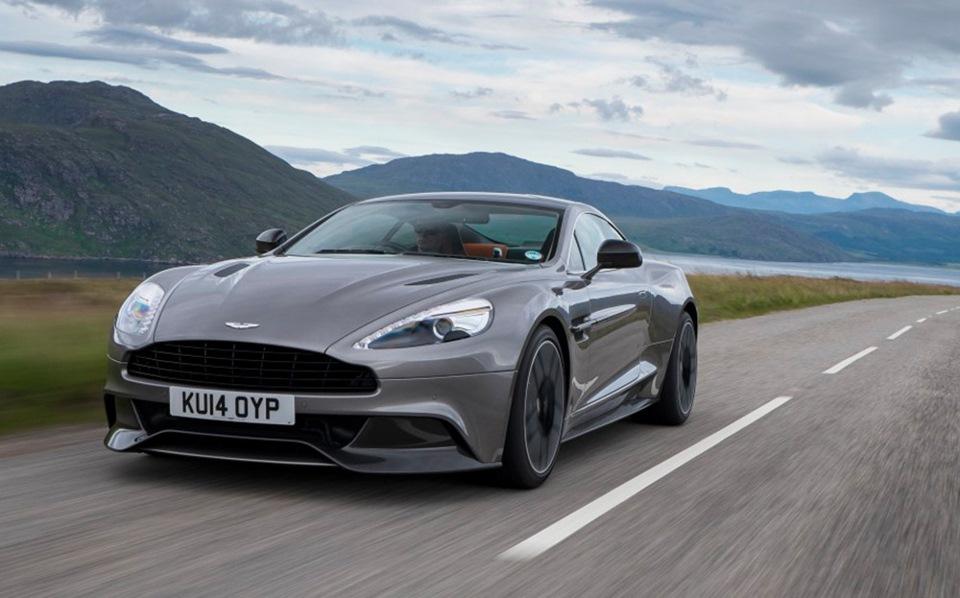 #ПеревожуКларксона: тест-драйв Aston Martin Vanquish '15