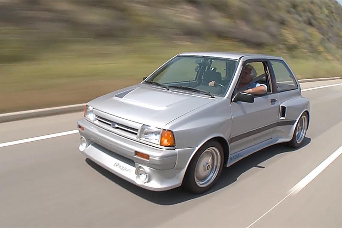 #НеизвестнаяАмерика, часть 45: Американский не значит большой - Ford Festiva V6 SHOgun