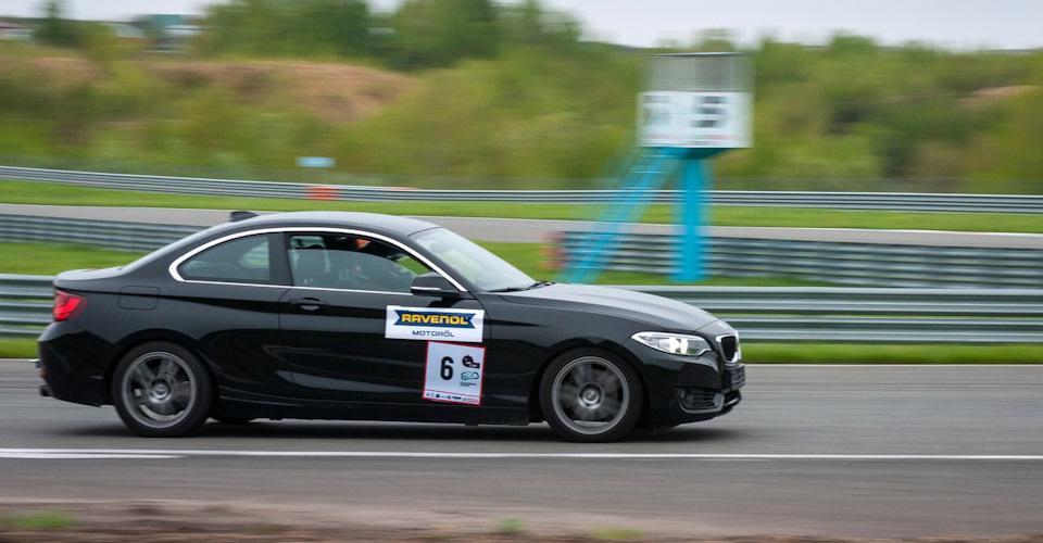 BMW 220: Гонка второго этапа Time-Attack KazanRing
