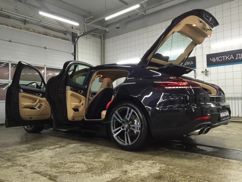Porsche Panamera 4S - как мы готовим автомобили к тестам и съемкам