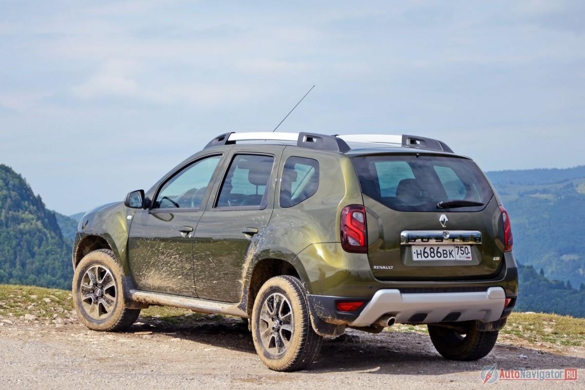 Румынский Тест-драйв Renault Duster