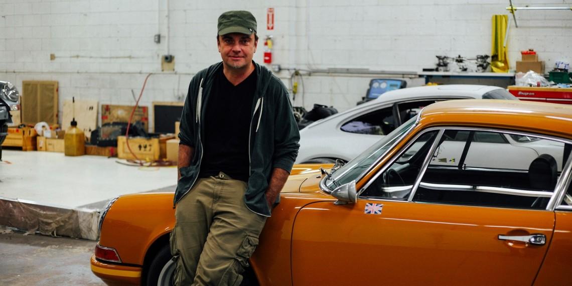 Интервью с Робом Дикинсоном из Singer (тюнинг Porsche)