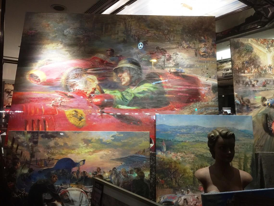 Искусство и автомобиль всегда рядом! Штутгарт-2015