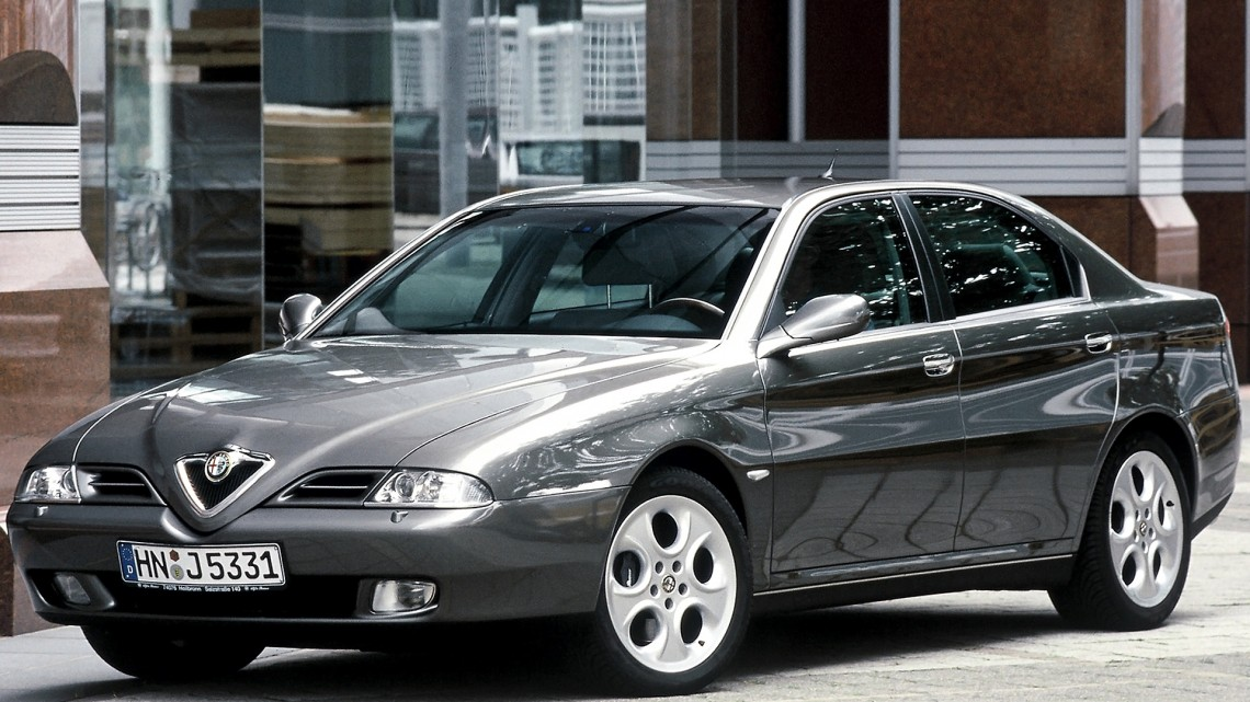 #ПеревожуКларксона: тест-драйв Alfa Romeo 166