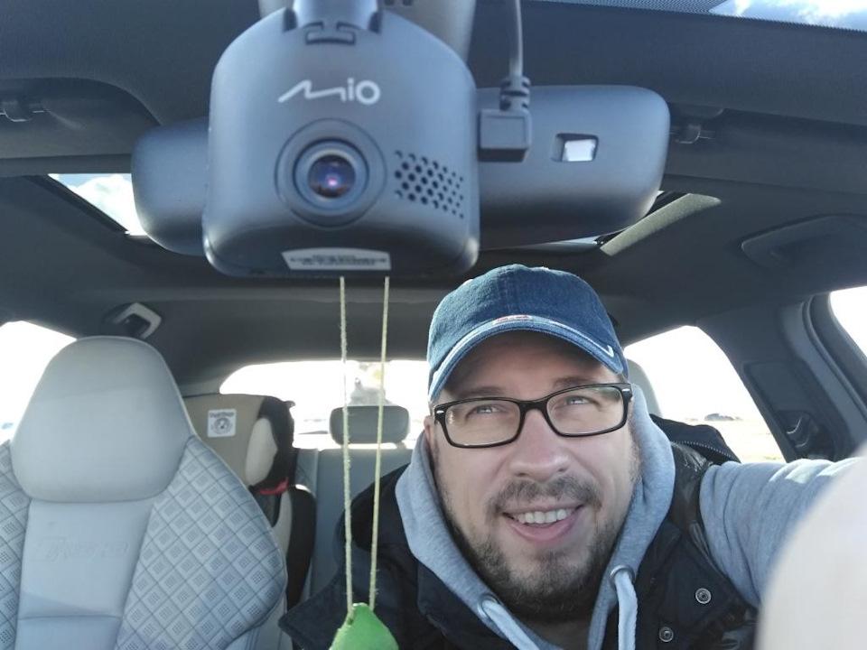 Видеорегистратор с расширенным функционалом Mio MiVue C333