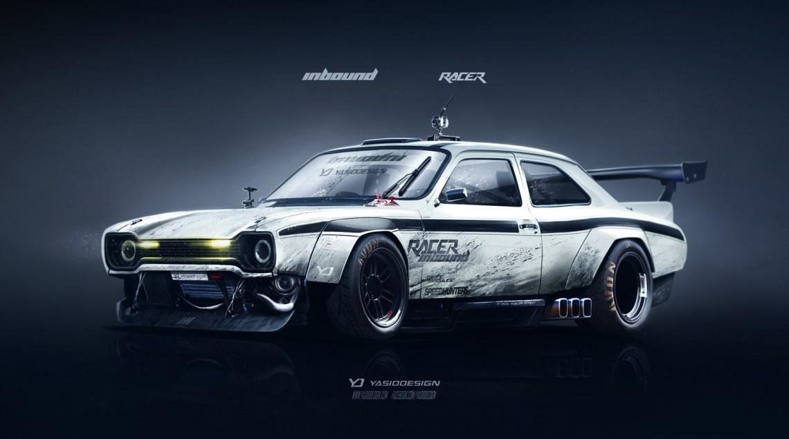 Красивый автомобильный арт от yasiddesign