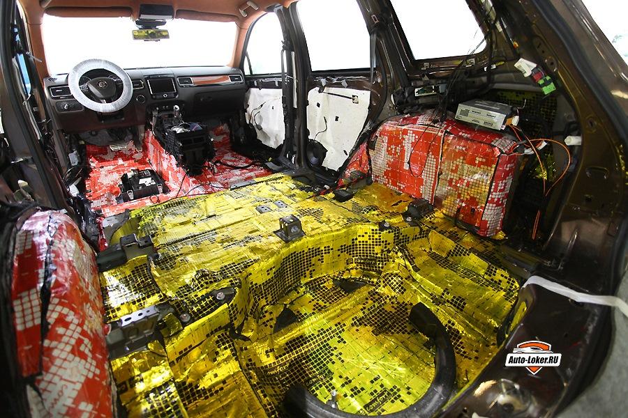 Практически полная шумоизоляция VW Touareg или нет предела совершенству!