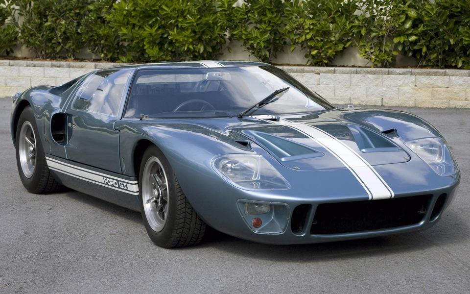 #ПеревожуКларксона, Ford GT40