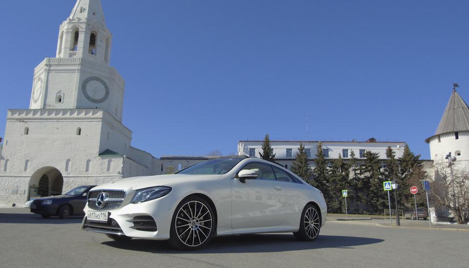 Тест-драйв Mercedes-Benz E classe coupe