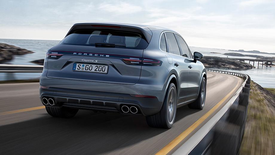 А вот и новый Porsche Cayenne 2018! Первый взгляд на автомобиль
