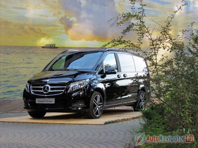 Тест-драйв Mercedes-Benz V Class: Семьянин в галстуке