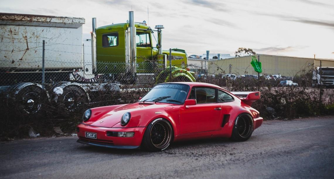 Мой Porsche 911 SC на Madetoscrape