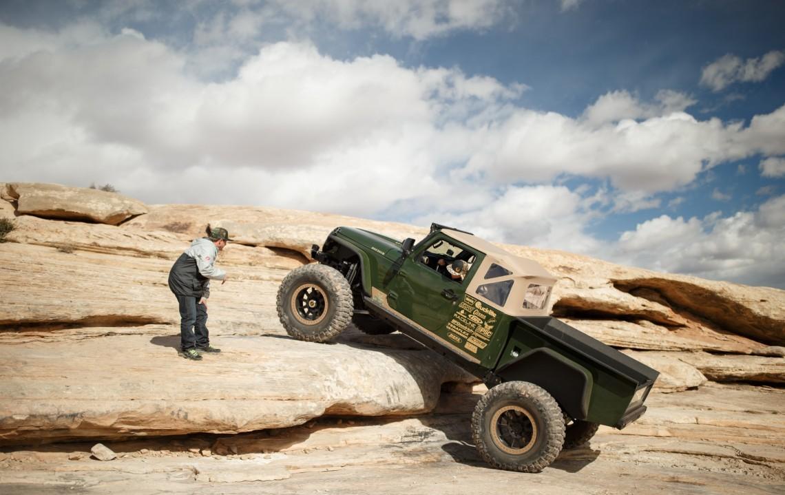 Jeep – мускулистый проходимец с двигателем от Корвета