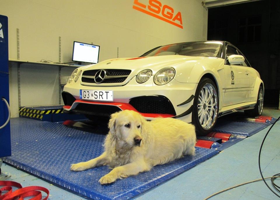 Mercedes-Benz CL55 AMG supercharger: нюансы настройки
