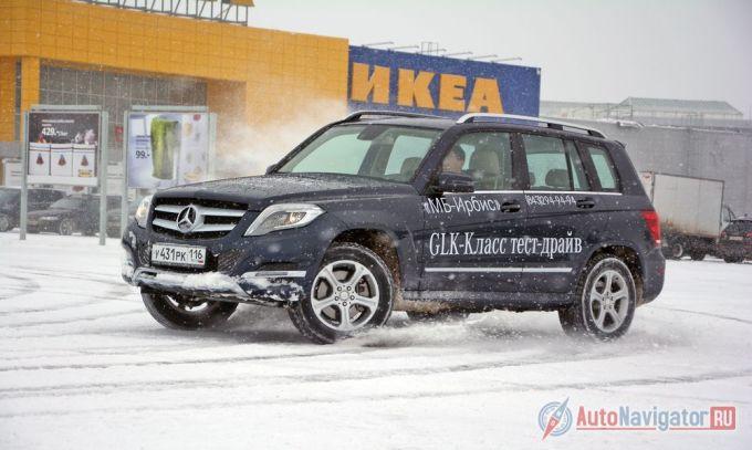 Тест-драйв Mercedes-Benz GLK 250: С оглядкой на Gelandewagen