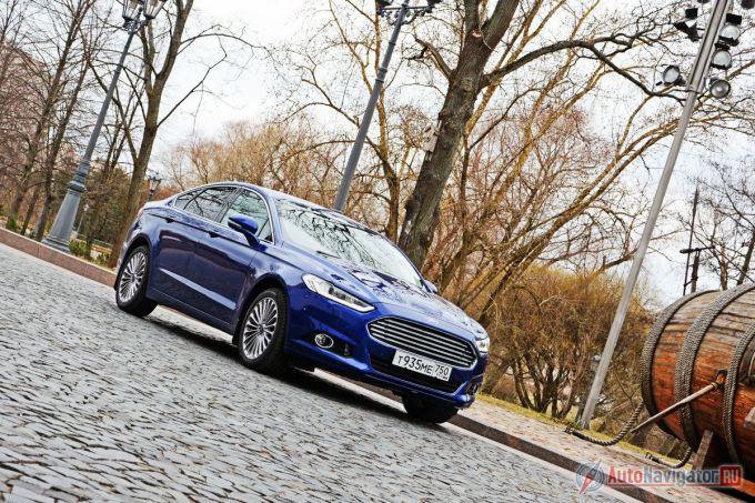 Тест-драйв Ford Mondeo new 5-го поколения: Бонд. Джеймс Бонд