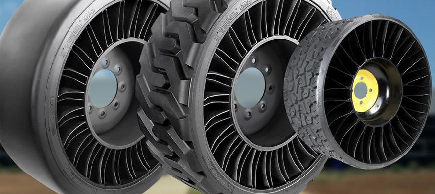 На рынок РФ выходят новые безвоздушные шины, хотя это целое колесо!