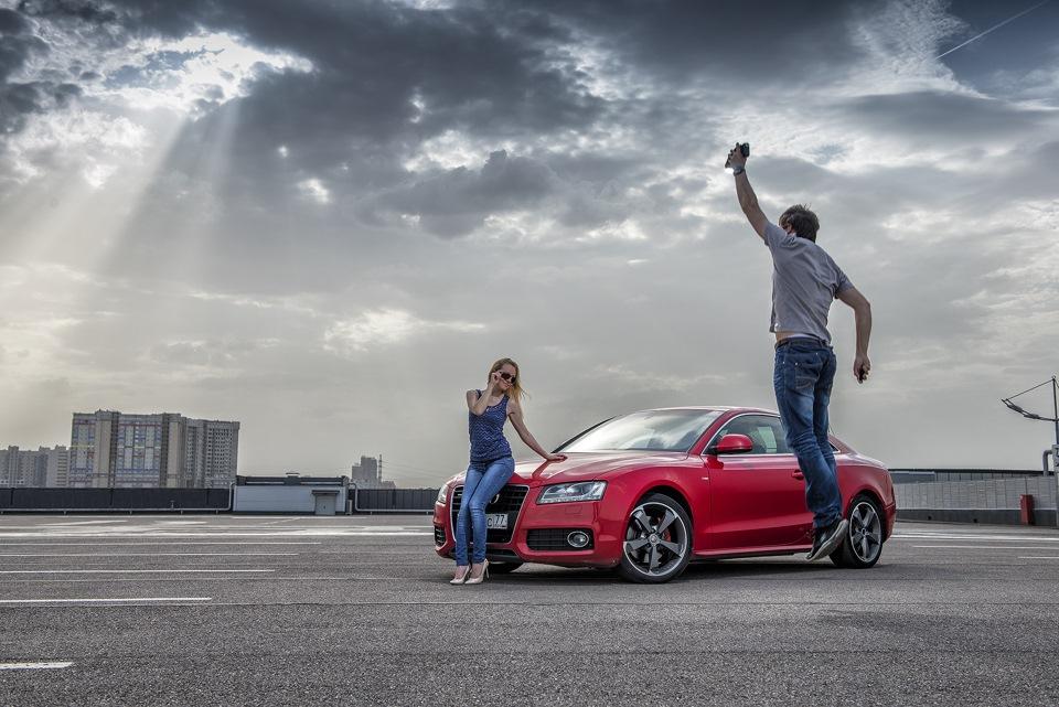 Audi A5 Mein Herz московский фотосет